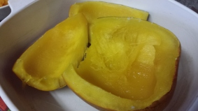 Cook Pumpkin in the microwave