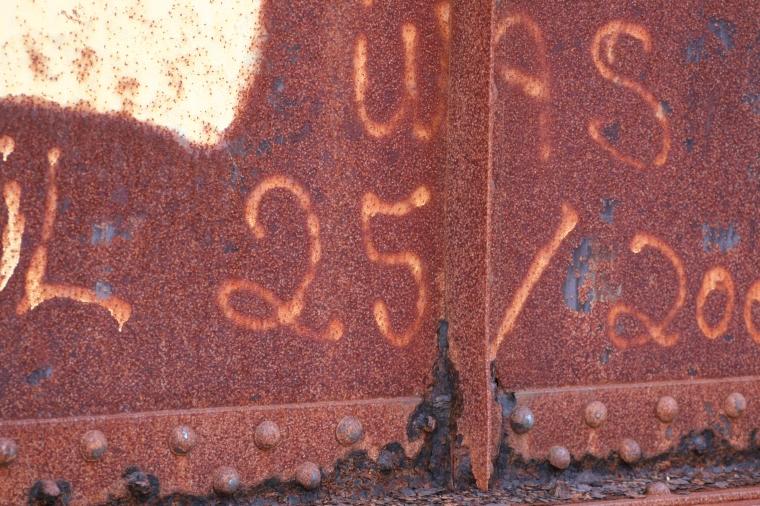 Graffiti on the bridge